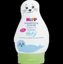 HiPP Babysanft sampon és tusfürdő 200 ml