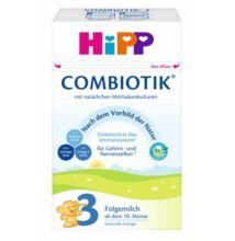 Hipp 3 BIO Combiotik tejalapú anyatej-kiegészítő tápszer 10 hónapos kortól