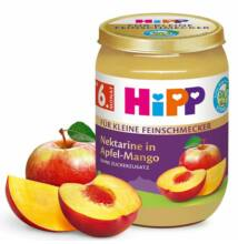 HiPP BIO Gyümölcs Nektarin alma-mangó 6 hónapos kortól 190g