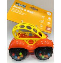 Játék autó Oball, 0 hó+, Sárga-piros
