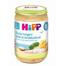 HiPP Tészta tengeri hallal és brokkolival bébiétel