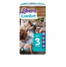 Libero Comfort Midi, 3 (5-9 kg) 62 db nadrágpelenka