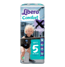 Libero Comfort Maxi+,  5 (10–14 kg) 50 db nadrágpelenka XTREME