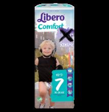 Libero Comfort XL+, 7 (16-26 kg) 42 db nadrágpelenka XTREME