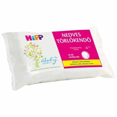 HiPP Babysanft nedves törlőkendő 56 db