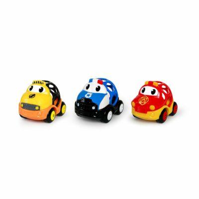 BS Oball Go Grippers sürgősségi autók Dan, Ben és Zac 3 db