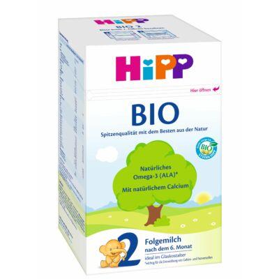 HiPP 2 BIO Tejalapú anyatej-kiegészítő tápszer 6 hónapos kortól 600 g