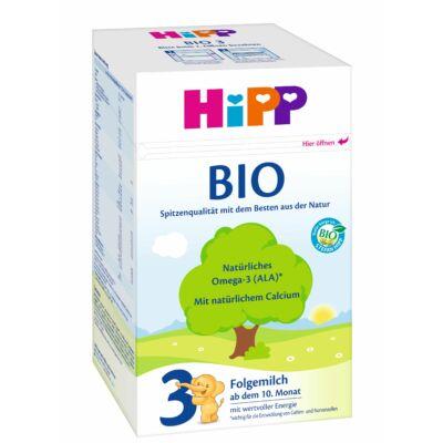 HiPP 3 BIO Tejalapú anyatej-kiegészítő tápszer 10 hónapos kortól 600 g