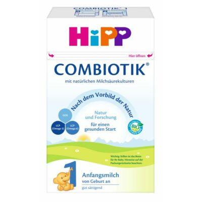 HiPP 1 BIO Combiotik tejalapú anyatej-helyettesítő tápszer újszülött kortól