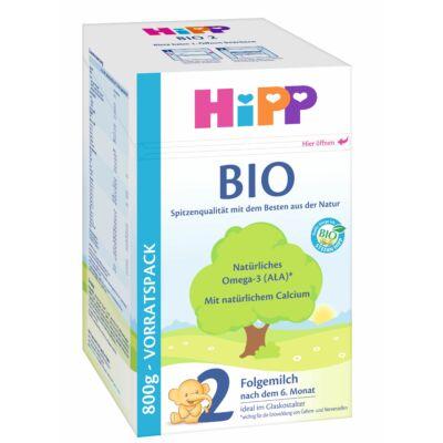 HiPP 2 BIO Tejalapú anyatej-kiegészítő tápszer 6 hónapos kortól 800 g