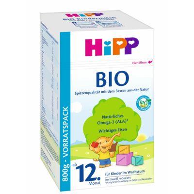HiPP BIO Tejalapú Gyermekital 12 hónapos kortól 800 g