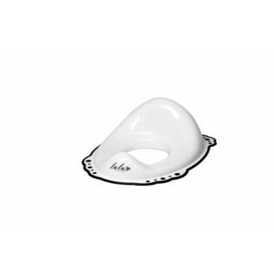 Maltex WC szűkítő csúszásmentes Lulu fehér