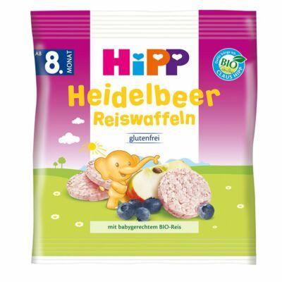 HiPP BIO Almás-áfonyás rizskorong
