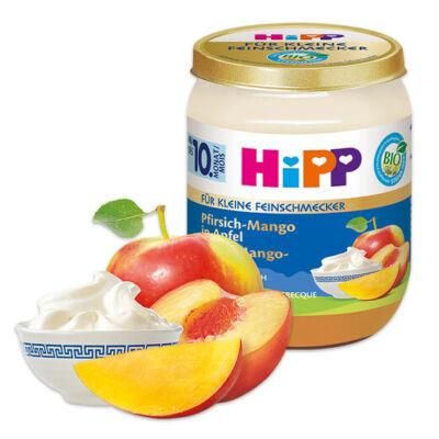 HiPP BIO Gyümölcs és joghurt őszibarack-mangó almában görög joghurttal 10 hónapos kortól 160g