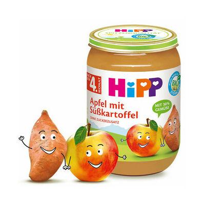 HiPP BIO Alma édesburgonyával 4 hónapos kortól 190g