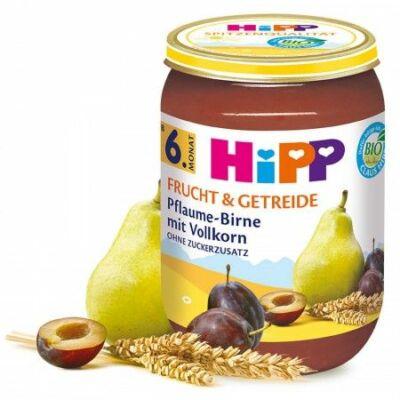 HiPP BIO Szilva-körte-gabona 6 hónapos kortól 190g