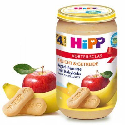 HiPP BIO Alma-banán babakeksszel 4 hónapos kortól 250g