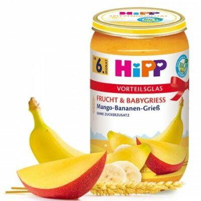 HiPP BIO Mangó-banán búzadarával 6 hónapos kortól 250g
