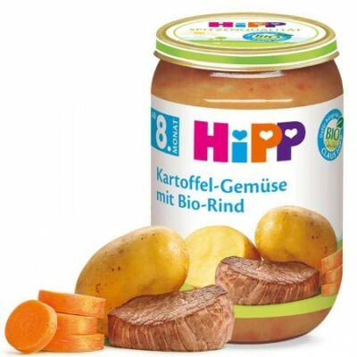HiPP BIO Burgonya zöldség BIO marhahússal 8 hónapos kortól 220g