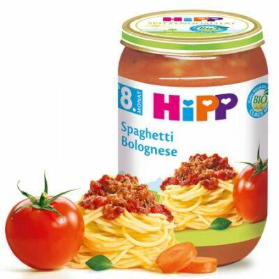 HiPP BIO Bolognai spagetti 8 hónapos kortól 220g