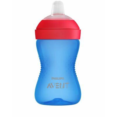 Philips Avent Puha harapásálló csőrös pohár 300 ml KÉK