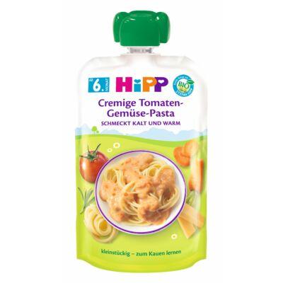 HiPP BIO Pouches Zöldséges-paradicsomos tészta,  6 hónapos kortól, 130g