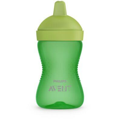 Philips Avent Puha harapásálló csőrös pohár 300 ml ZÖLD 18 hónapos kortól