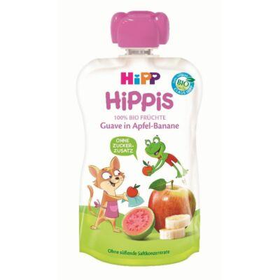 HiPP HiPPiS Guava-banán almával BIO bébiétel