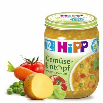 HiPP BIO Zöldséges Egytálétel 12 hónapos kortól 250g