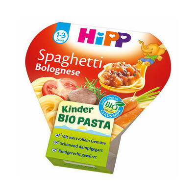 HiPP BIO Menü Bolognai Spagetti 1 éves kor felett 250g