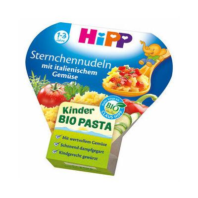HiPP BIO Menü Csillagtészta Olasz zöldségekkel 1 éves kor felett 250g