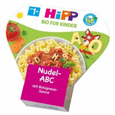 HiPP BIO Menü Betűtészta Bolognai raguval 1-3 éves kortól ajánlott 250g