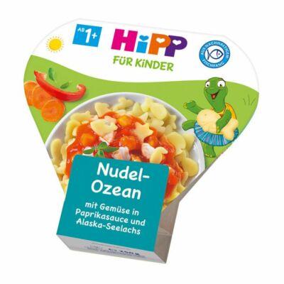 HiPP Menü Zöldséggel paprika szószban és Tőkehallal 1-3 éves kor között 250g