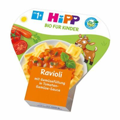 HiPP BIO Menü Zöldséggel töltött Ravioli Paradicsomszószban 1-3 éves kor között 250g