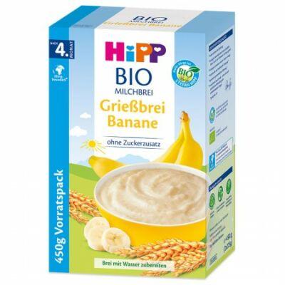 HiPP BIO Tejpép Banánnal 4 hónapos kortól 450g (2x225g)
