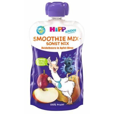 HiPP BIO Smoothie Mix Áfonya körtés almában 1 éves kortól