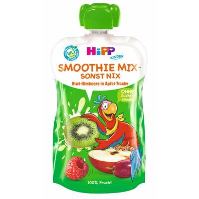 HiPP BIO Smoothie Mix Szőlő-kiwi-málna almában 1 éves kortól