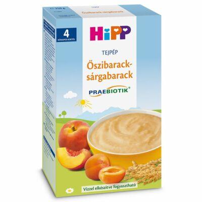 HiPP Őszibarack-sárgabarack tejpép