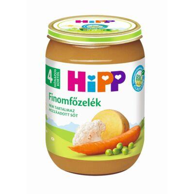 HiPP BIO Finomfőzelék bébiétel 4 hónapos kortól