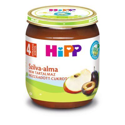 HiPP BIO Szilva-alma 4 hónapos kortól 125g
