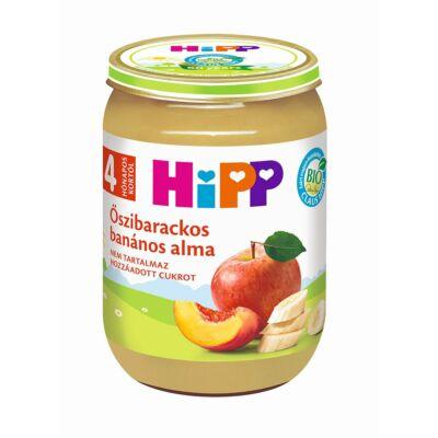 Őszibarackos-banános alma BIO bébiétel