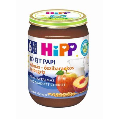 HiPP BIO Almás-őszibarackos tejbegríz