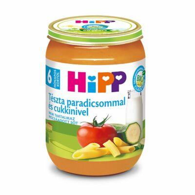 HiPP BIO Tészta paradicsommal és cukkinivel bébiétel 6 hónapos kortól