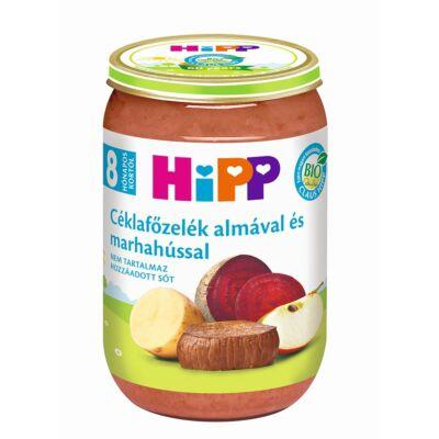 HiPP BIO Céklafőzelék almával és marhahússal bébiétel