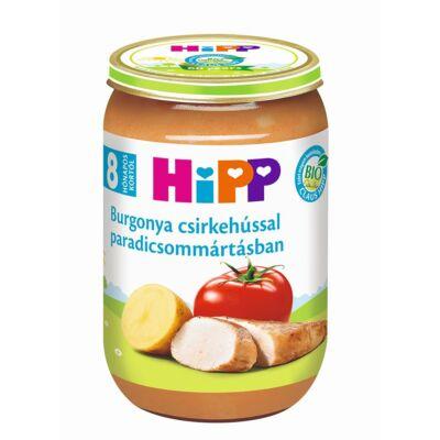 HiPP BIO Burgonya csirkehússal paradicsommártásban bébiétel