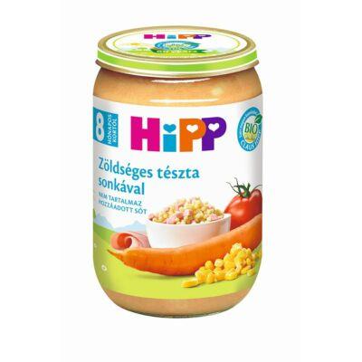 HiPP BIO Zöldséges tészta sonkával bébiétel