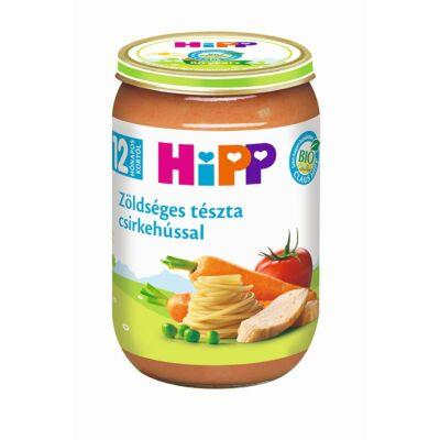 HiPP BIO Zöldséges tészta csirkehússal bébiétel