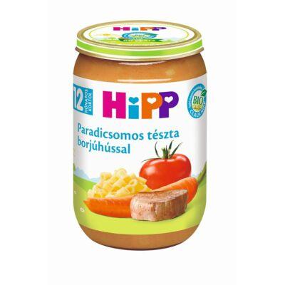 HiPP BIO Paradicsomos tészta borjúhússal bébiétel