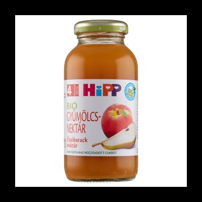 HiPP BIO őszibarack gyümölcsnektár bébiital 4 hónapos kortól 0,2 l