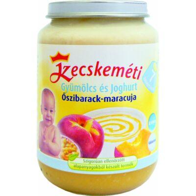 Kecskeméti Őszibarack-maracuja joghurttal